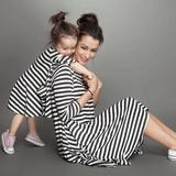 Mother & Daughter Matching Striped Dress