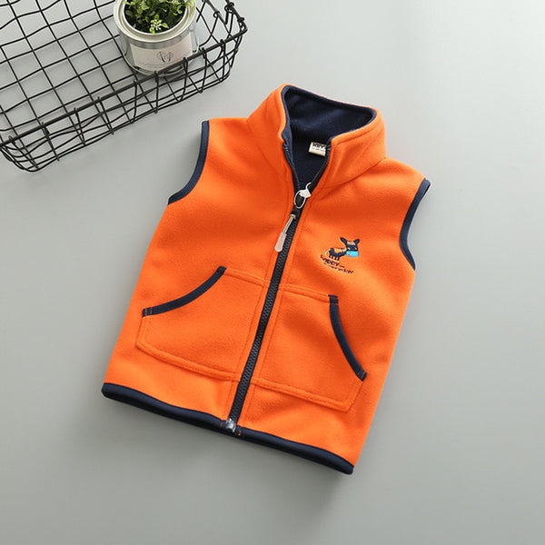 Fleece Outwear unisex Vest