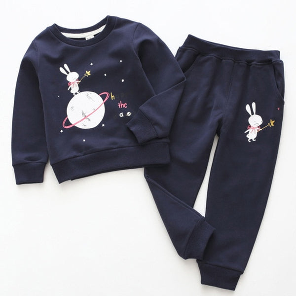 Toddler / Boys Long Sleeve T-shirt+Jeans 2pcs Kids Clothing Sets
