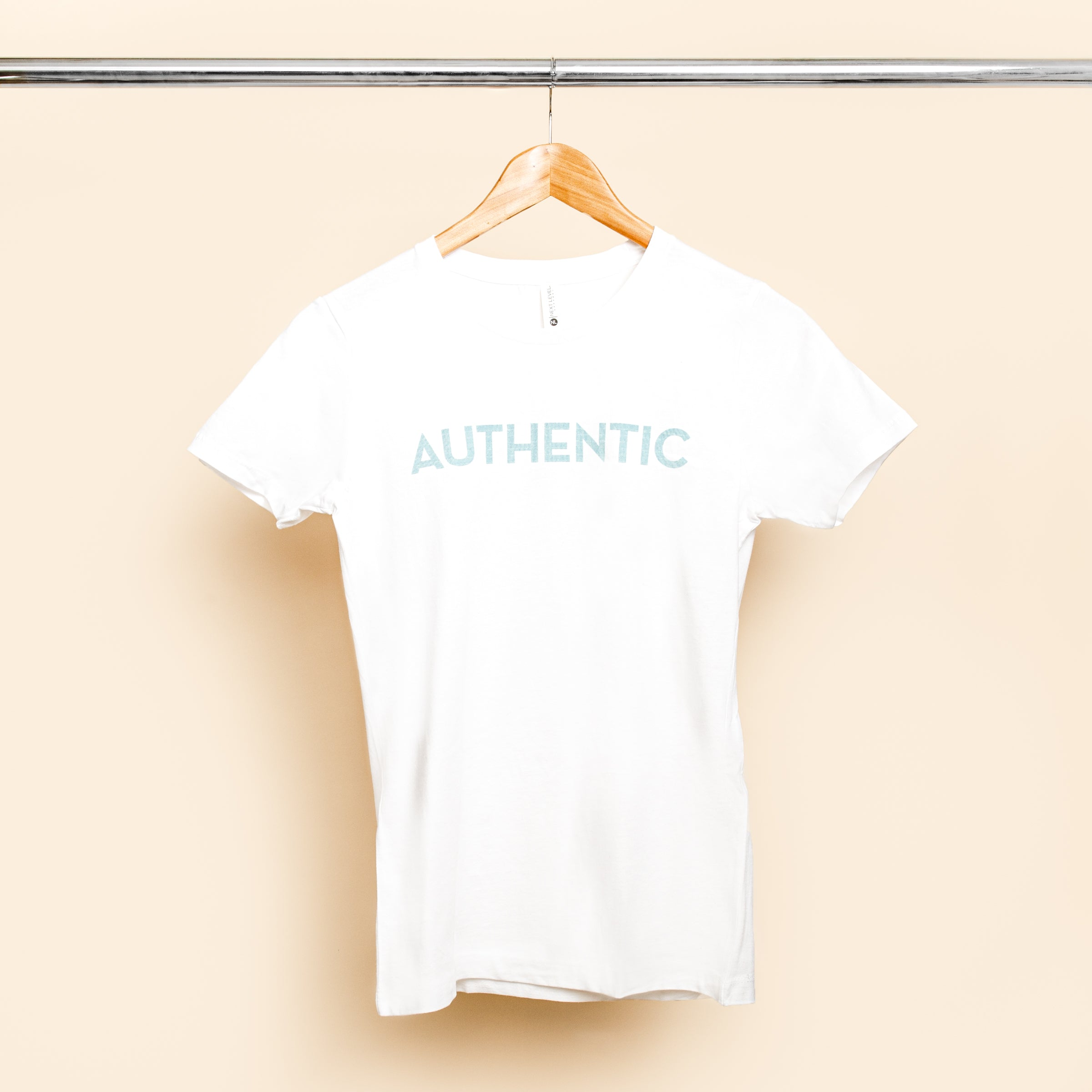 Authentic White Short Sleeve Graphic T-shirt