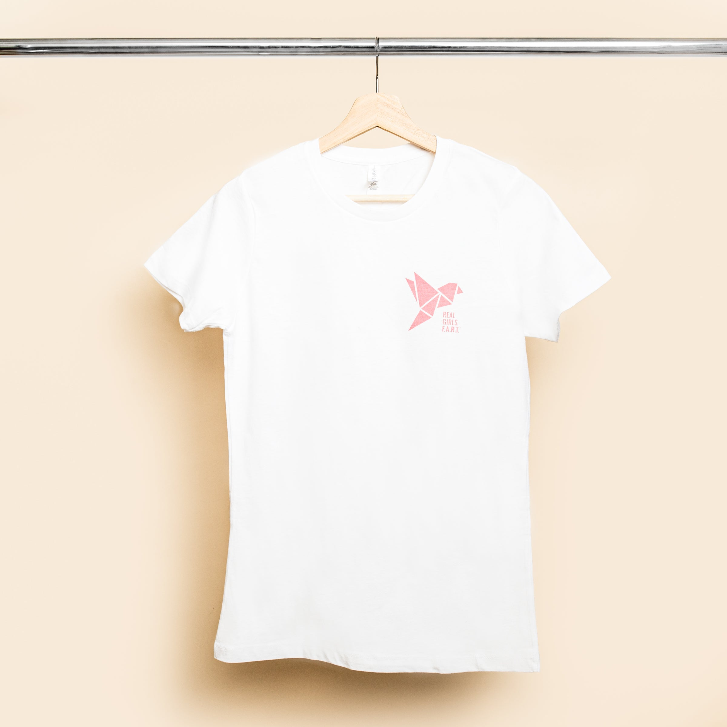 Real Girls F.A.R.T. White Short Sleeve Graphic T-shirt