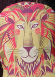Clarence the Lion Tea Towel / Cloth Kit - A silkscreen design by Sarah Young
