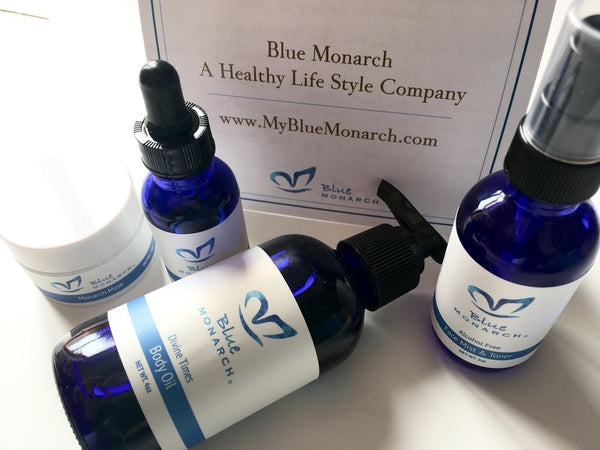 Blue Monarch Skin and Body Care Range by Elaine