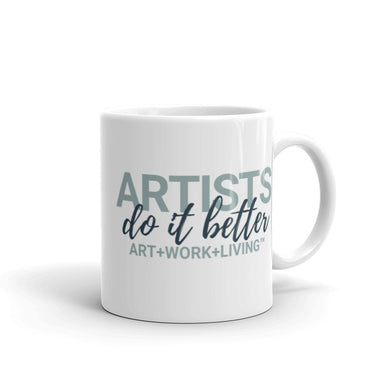 Artists do it Better Mug