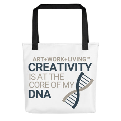 Creativity in my DNA Tote Bag