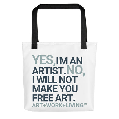 Yes, I'm an Artist Tote Bag