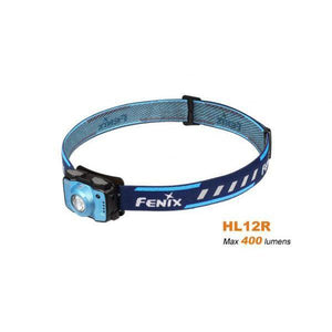 Fenix HL12R – 400 Lumens Rechargeable LED Headlamp – Blue