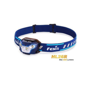 Fenix HL26R – 450 Lumens Rechargeable LED Headlamp – Yellow