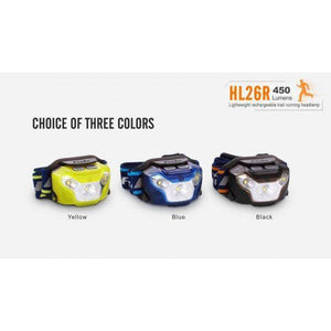 fenix hl26r led headlamp colours