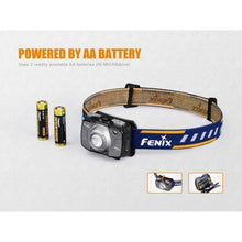 Fenix HL30 V18 – 300 Lumens Rechargeable LED Headlamp – Grey