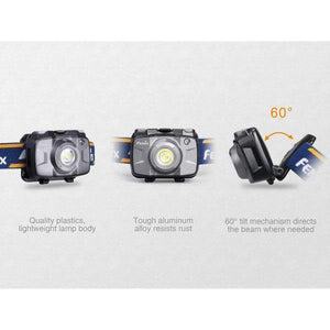 Fenix hl30 led headlamp flip