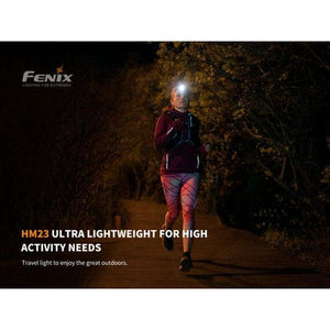 Fenix HM23 – 240 Lumens LED Headlamp