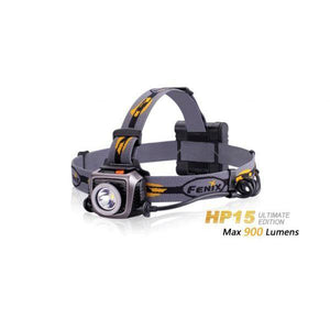 Fenix HP15UE – 900 Lumens LED Headlamp – Iron-Gray
