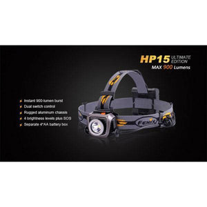 Fenix HL55 led head lamp front