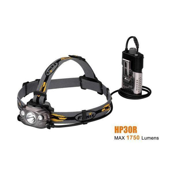 Fenix HP30R – 1750 Lumens Rechargeable LED Headlamp – Black
