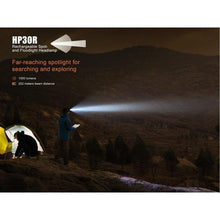 fenix hp30r led headlamp
