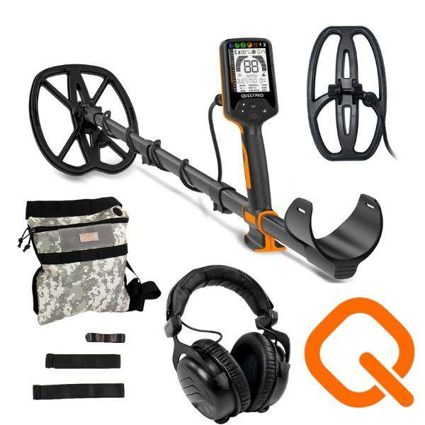 Quest Pro underwater metal detector for coin and relic hunting and detecting for land and water