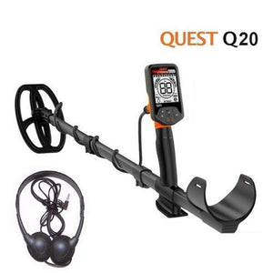 Quest q20 metal detector for coin and relic hunting and detecting
