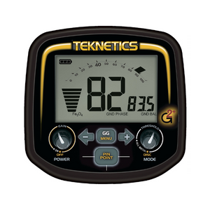 Teknetics G2+ Metal Detector Gold detector display