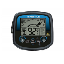 Close up of Teknetics Omega 8500 Metal Detector display