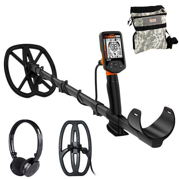 Quest Q40 Metal Detector Fully Loaded Pack