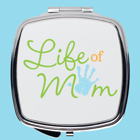 A Life of Mom Compact Mirror