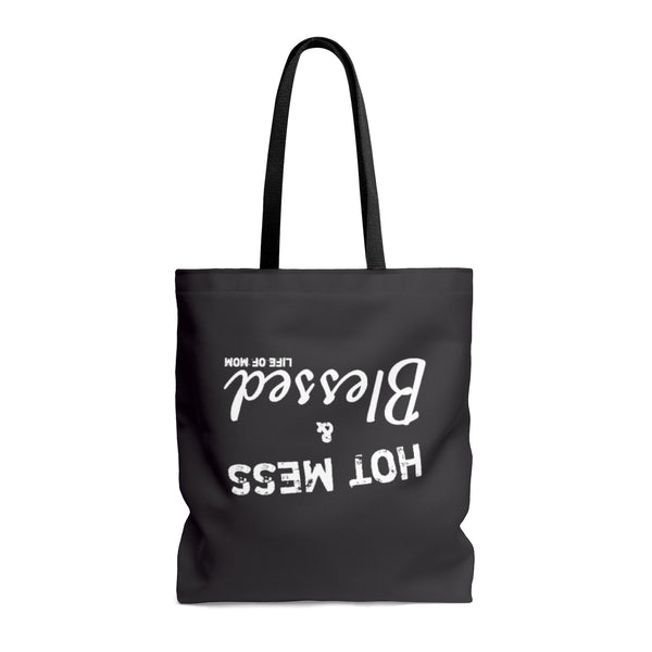 Hot Mess & Blessed Tote Bag