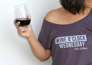 Wine O'clock Wednesday T-Shirt