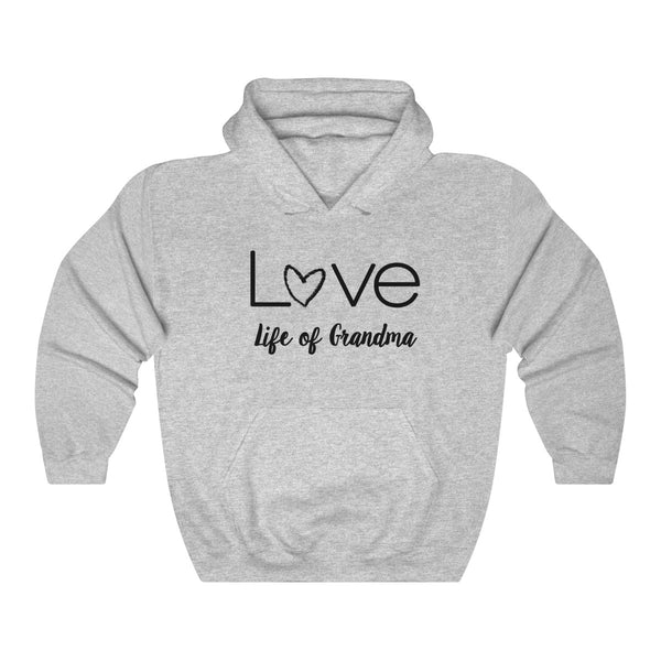 Life of Grandma Love Hooded Sweatshirt