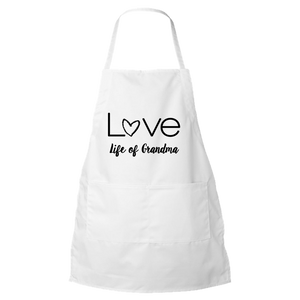Life of Grandma - Love Apron