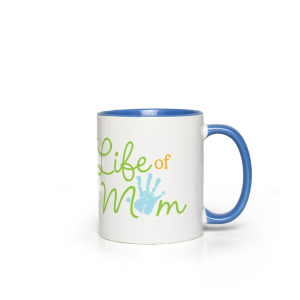 A Life of Mom Mug with Classic Logo