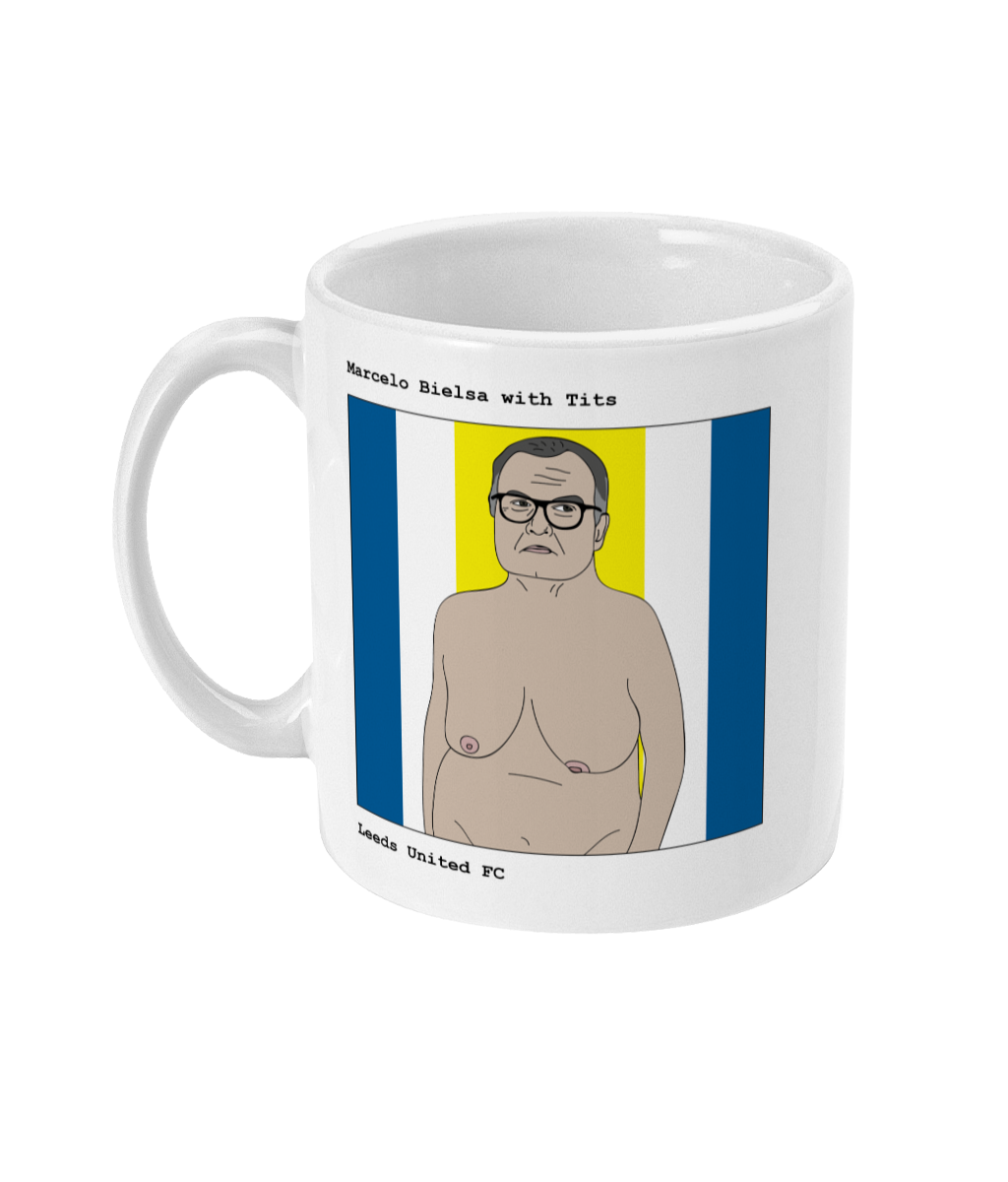 Marcelo Bielsa with Tits - Footballers with Tits