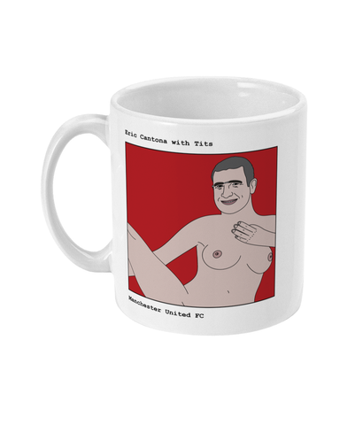 Eric Cantona with Tits - Footballers with Tits