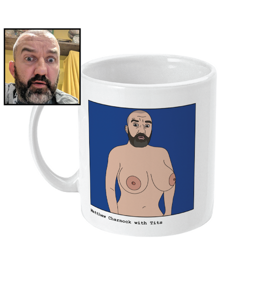 Custom Tits Mug - Footballers with Tits