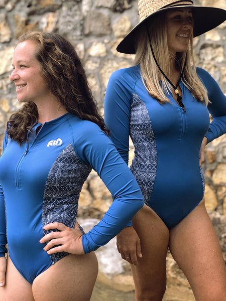 FIN Surf Body Suit Cheeky Long Sleeve