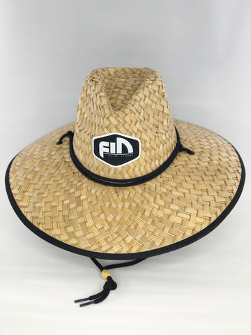 Lifeguard FIN Straw Hat