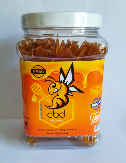 CBD Hemp Honey Sticks