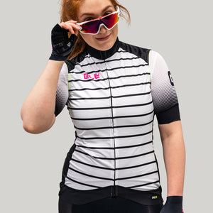 PRR Women's Black Stripe Vest