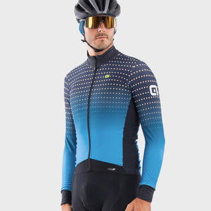 PR-S Bullet DWR Men's Long Sleeve Jersey - Blue