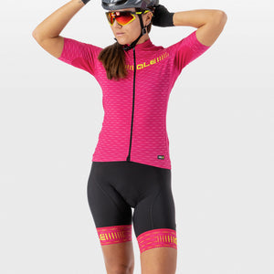 PRR Green Road Women's Bib Shorts - Cyclamen