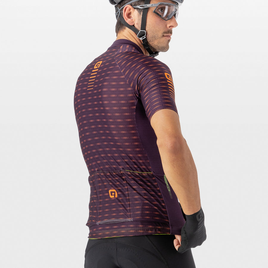 PRR Green Road Men's Jersey - Plum