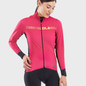 PRR Green Road Women's Long Sleeve Jersey - Pink