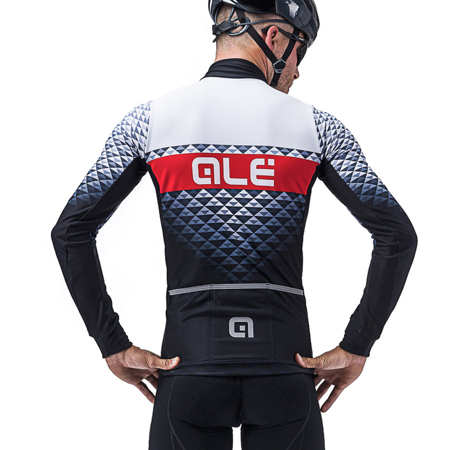 PR-S Hexa DWR Mens Long Sleeve Jersey - White