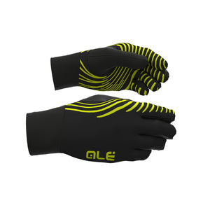 Spiral Roubaix Gloves – Black/Fluro Yellow