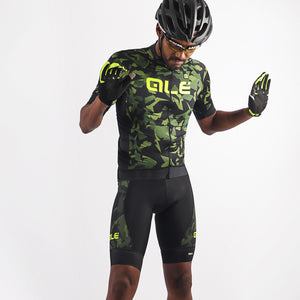 PRR Glass Bibshorts - Green