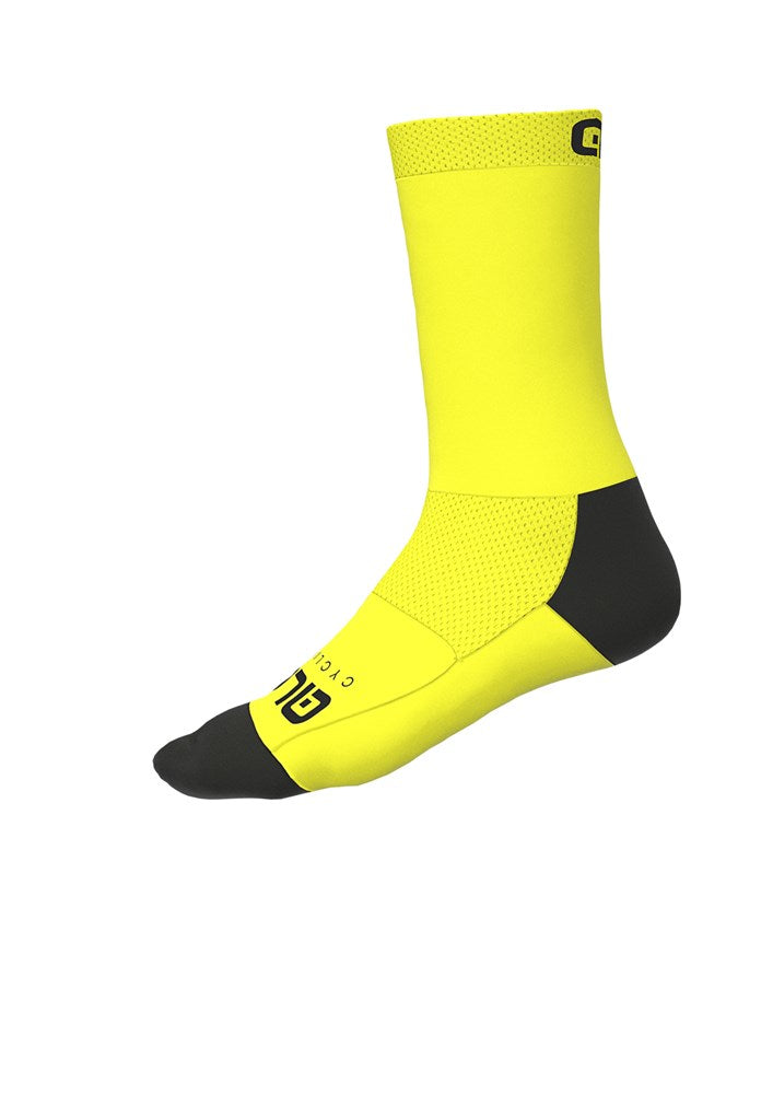 Team Sock (20cm cuff) - Fluro Yellow