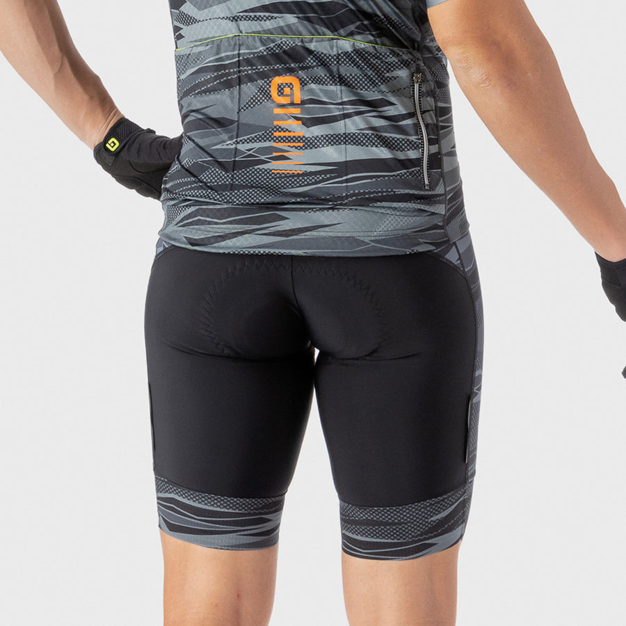 PRR Mens Rock Bib Shorts - Charcoal