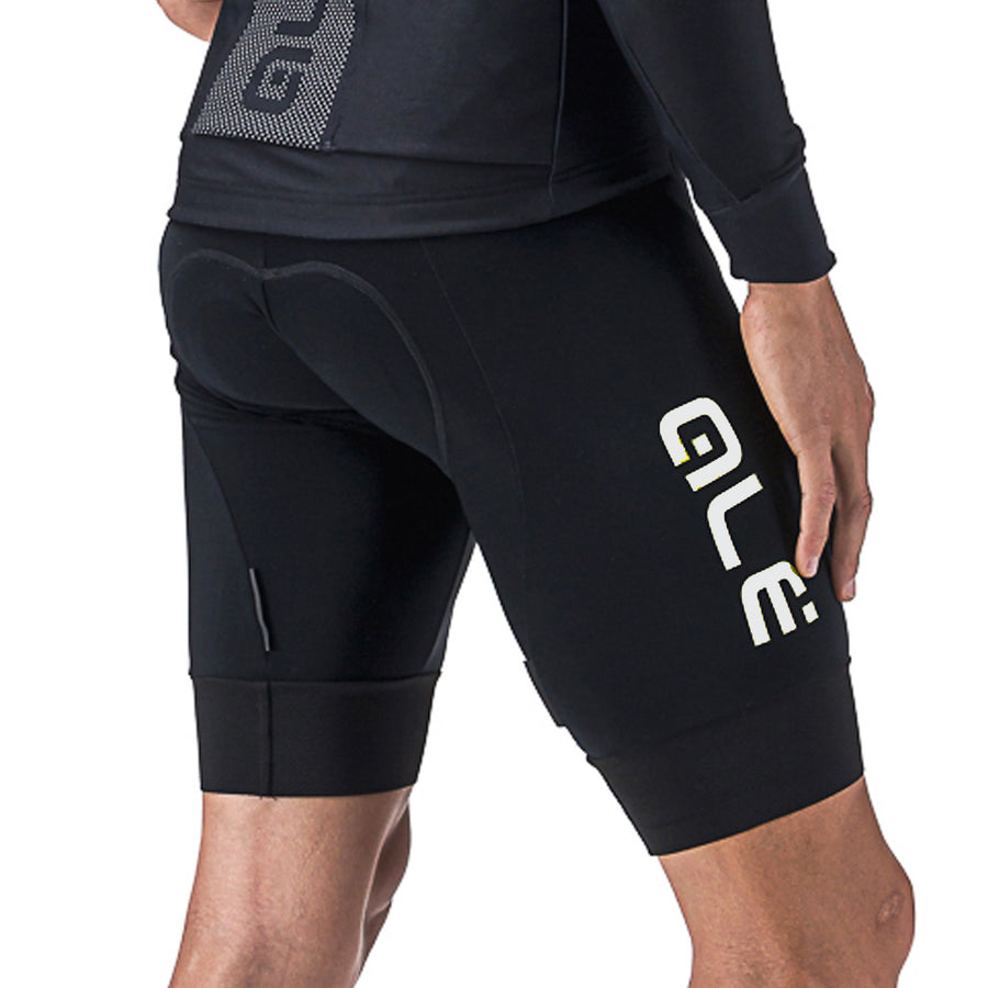 Solid Winter Mens Bib Shorts