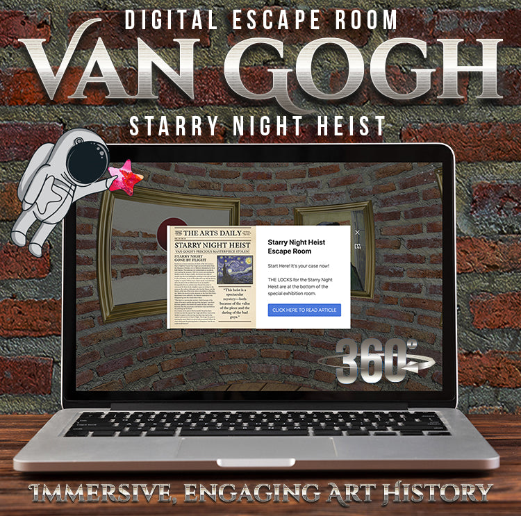 Fun and Engaging Art History! Digital Escape Rooms!