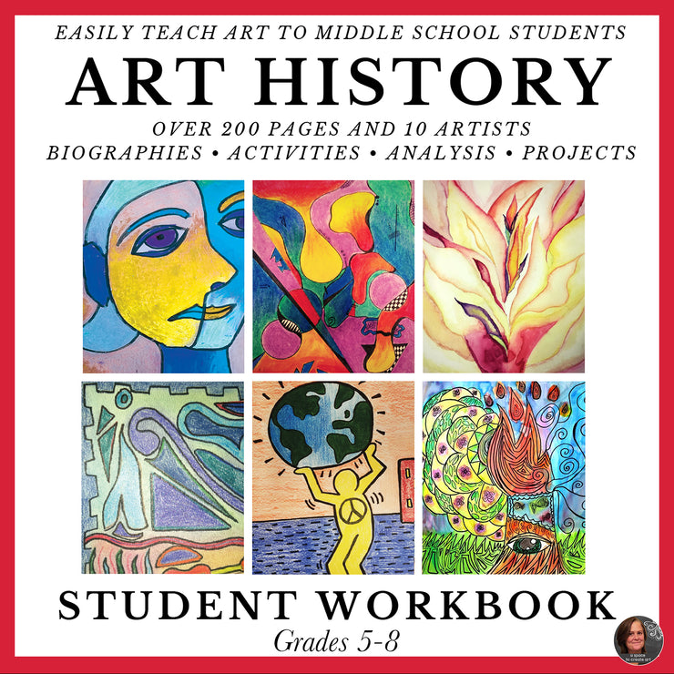 Art History Workbook - Homeschool Curriculum
